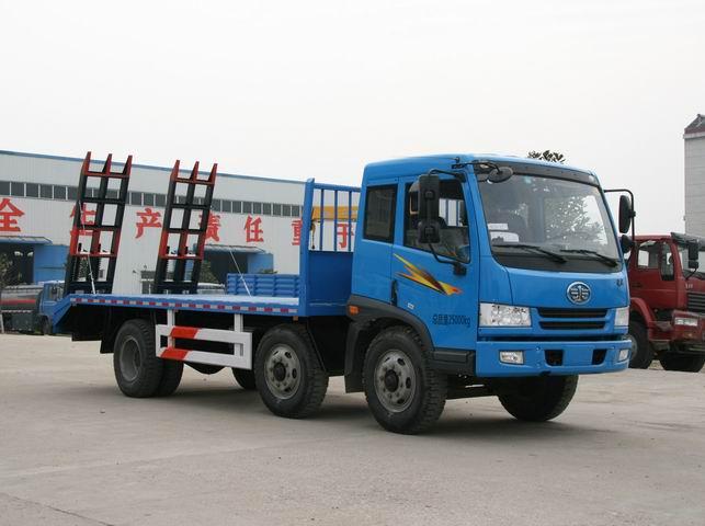 解放CA3252PK2LT3BEA80平板运输车