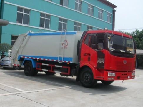 解放CA1160P62K1L2A1E4Z压缩式垃圾车