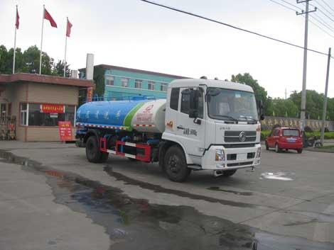 東風汽車DFL1160BX5清洗灑水車