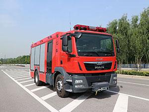 中卓时代牌ZXF5150GXFPM40/M5型泡沫消防车评测