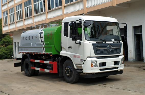东风牌DFZ5160GPSBX1型绿化喷洒车评测