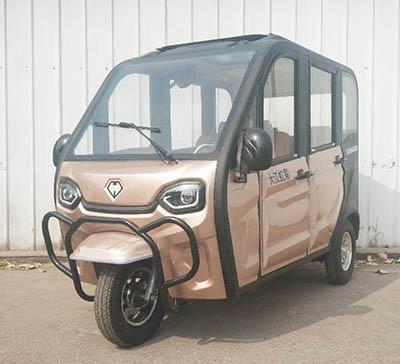 大江虹彩牌DJ1000DZK-5型电动正三轮摩托车评测